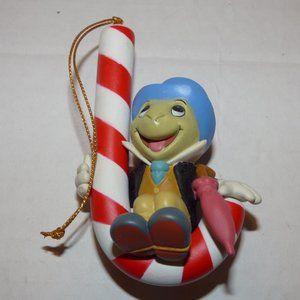 "GROLIER DISNEY CHRISTMAS MAGIC ORNAMENT ""JIMINY"""